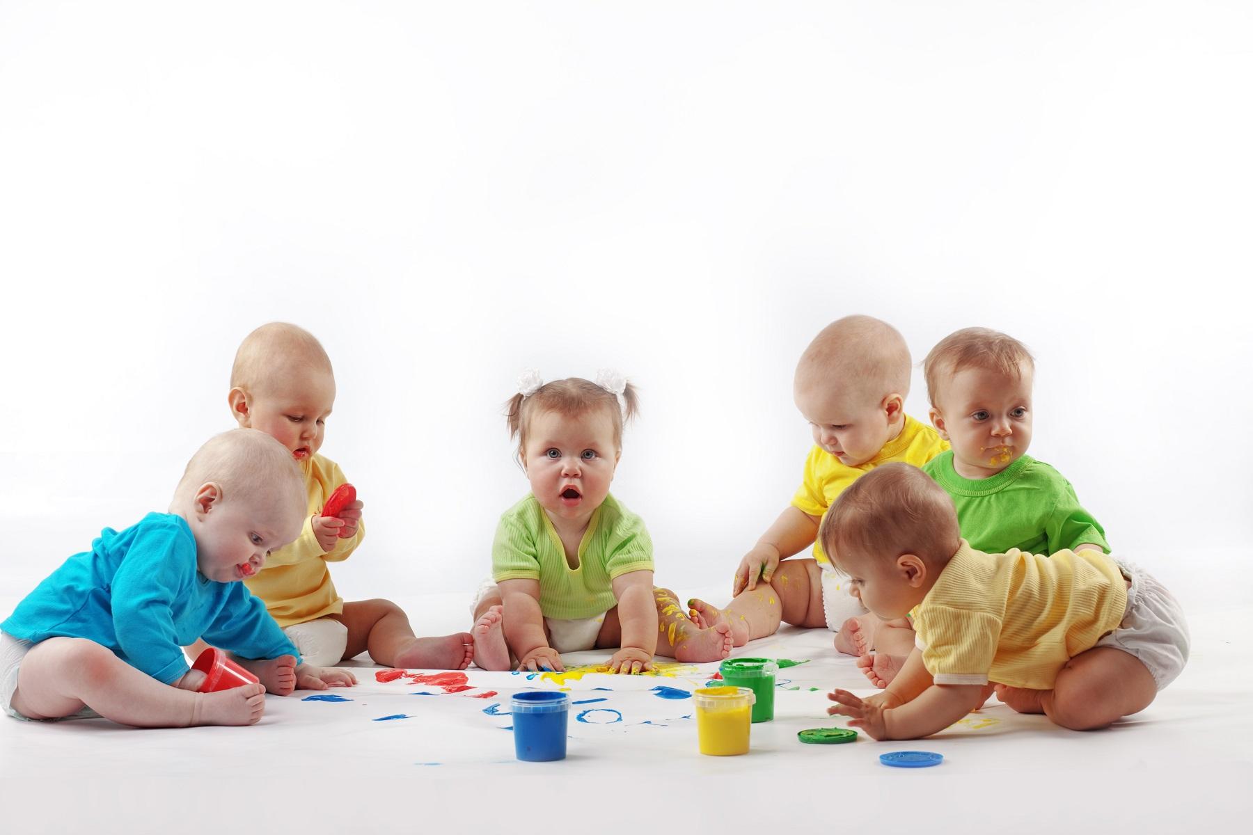 Упражнения с малышами массаж
