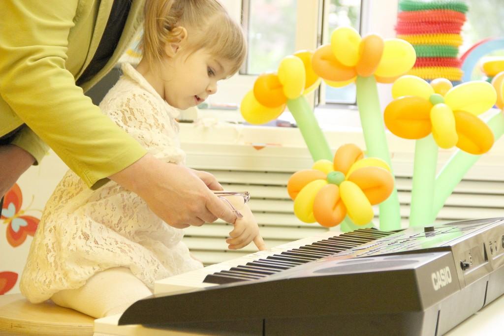 Музыкальные занятия в Бутово - детский клуб Лас-Мамас