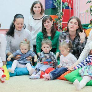 Занятия в детском центре